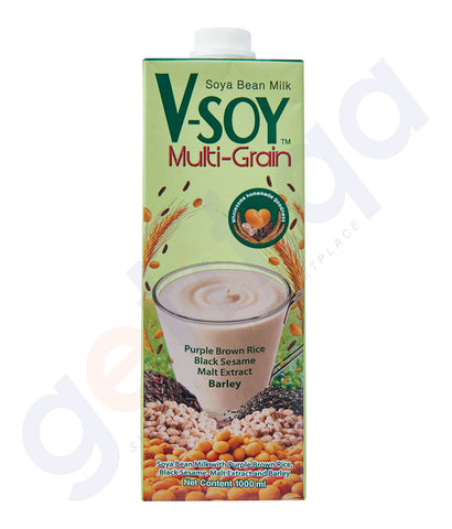 BUY BEST PRICED V-SOY M/GRAIN SOYMILK 1LTR ONLINE IN QATAR