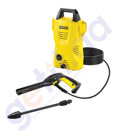 BUY KARCHER COLD WATER HIGH PRESSURE CLEANER K2BASIC IN DOHA QATAR
