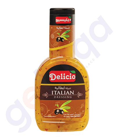 BUY BEST PRICED DELICIO ITALIAN DRESSING 320 ML ONLINE IN QATAR