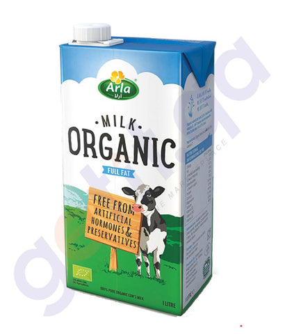 BUY BEST PRICED ARLA ORGANIC MILK FULLFAT 1LTR. ONLINE IN QATAR