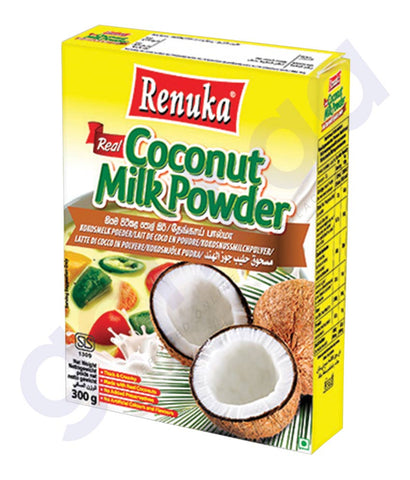 BUY BEST PRICED RENUKA COCONUT MILK POWDER 300GM ONLINE IN QATAR