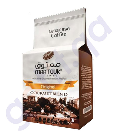 BUY MAATOUK - GOURMET BLEND WITHOUT CARDAMON 200GM IN DOHA QATAR