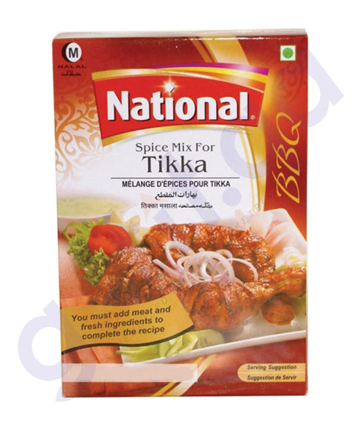 BUY BEST PRICED NATIONAL TIKKA MASALA 100GM IN QATAR