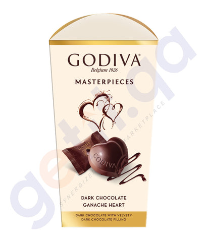 BUY GODIVA CHOCOLATE HEART GANACHE 117GM ONLINE IN QATAR
