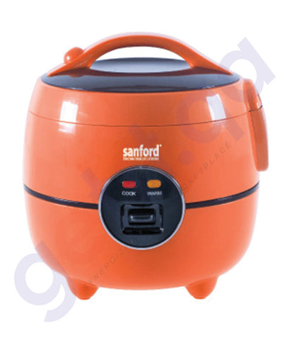 SHOP SANFORD RICE COOKER 1.0LTR - SF2513RC ONLINE IN QATAR