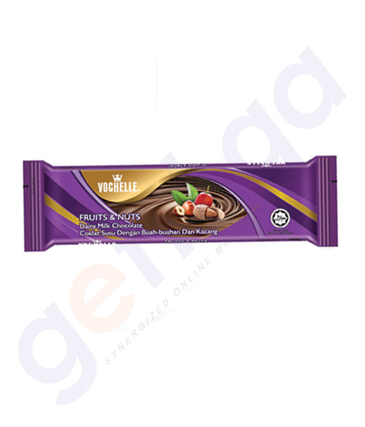 BUY BEST PRICED VOCHELLE BLOCK FRUIT&NUTS 40GM/ 75GM ONLINE IN QATAR