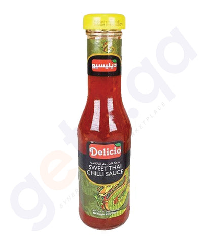 BUY BEST PRICED DELICIO SWEET THAI CHILLI SAUCE 370 GM IN QATAR