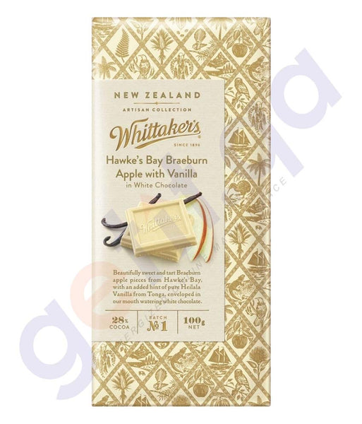 BUY WHITTAKERS-CHOCOLATE HAWKE'S BAY BRAEBURN APPLE WITH VANILLA BLOCK IN DOHA QATAR