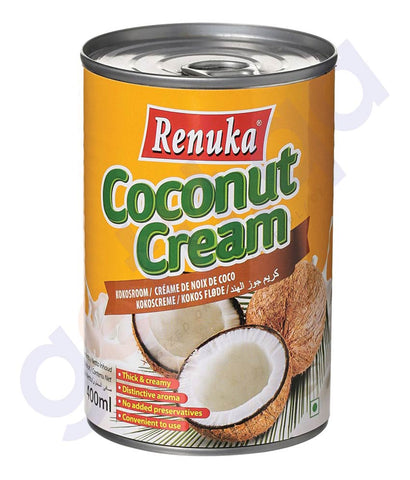 BUY BEST PRICED RENUKA COCONUT CREAM 400ML IN QATAR