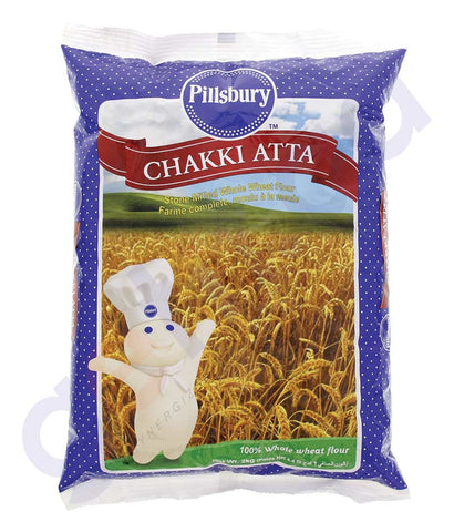BUY BEST PRICED PILLSBURY CHAKKI FRESH ATTA 2KG ONLINE IN QATAR