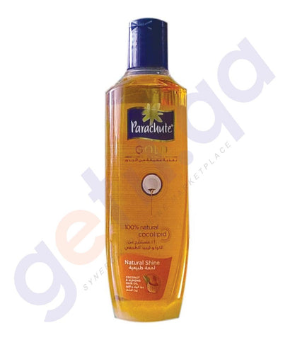 BUY PARACHUTE GOLD HAIR OIL-(NS)NATURAL SHINE 200ML/ 300ML ONLINE IN QATAR
