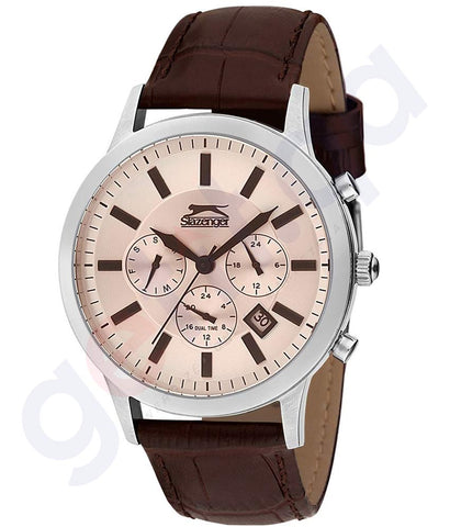 Slazenger Casual Watch For Men Analog Leather - SL.9.6068.2.02