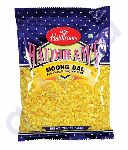 BUY HALDIRAMS MOONG DAAL 200GM ONLINE IN QATAR
