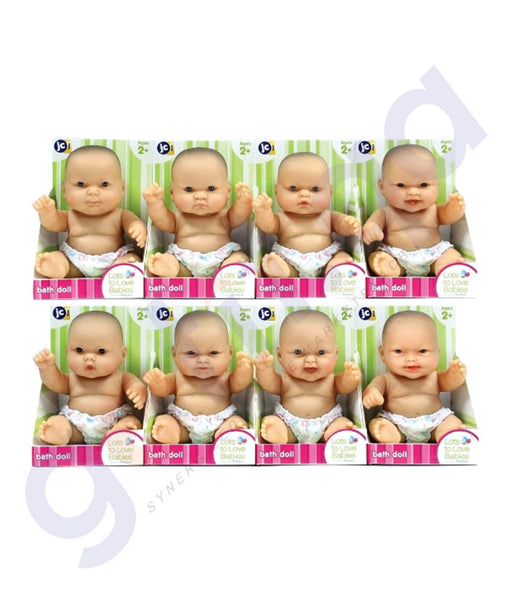 "BUY JC TOYS 10"" LOTS TO LOVE BABIES ON COUNTER TOP DISPLAY-16520 IN QATAR"