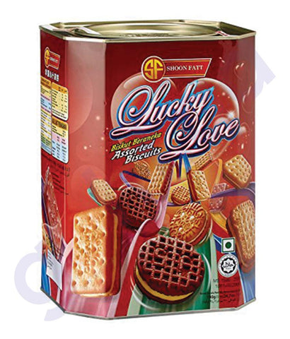 BUY BEST PRICED SHOON FATT VIDORY BISCUIT LUKYLOVE 700GM IN QATAR