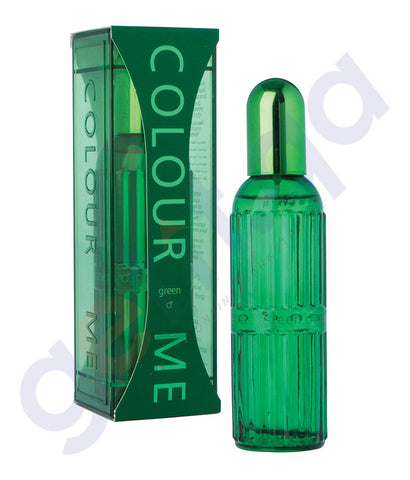BUY MILTON LLYOD COLOUR ME GREEN EDT FOR MEN 90ML ONLINE IN QATAR