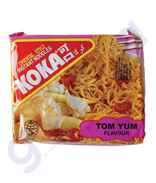 BUY BEST PRICED KOKA M/PACK NOODLES TOM YAM 85GM IN QATAR