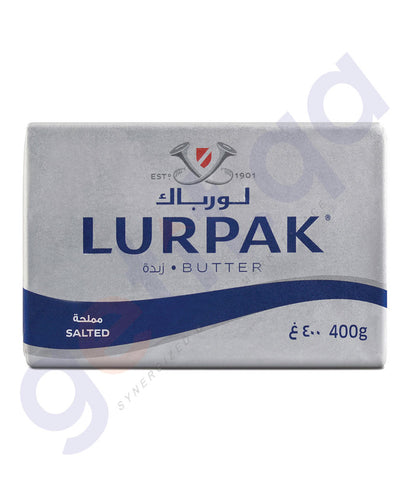 BUY BEST PRICED LURPAK BUTTER SALTED 400GM ONLINE IN QATAR
