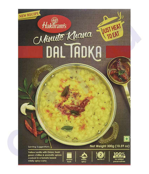 BUY BEST QUALITY HALDIRAMS YELLOW DAL TADKA 300GM ONLINE IN QATAR