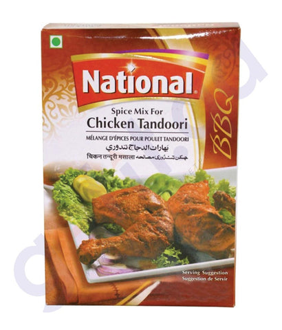 BUY BEST PRICED NATIONAL TANDOOR MASALA 100GM IN QATAR