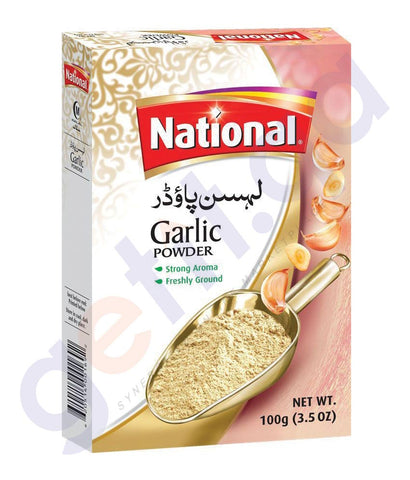 BUY BEST PRICED NATIONAL GARLIC POWDER 100GM ONLINE IN QATAR