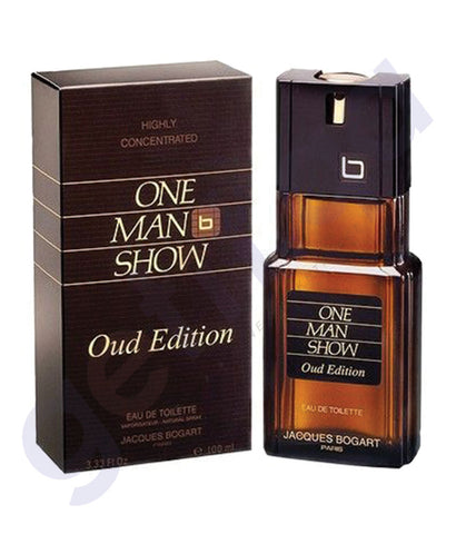 BUY JACQES BOGART ONE MAN SHOW OUD EDT 100ML FOR MEN IN QATAR