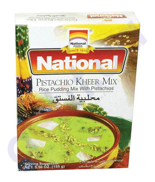 BUY BEST PRICED NATIONAL KHEER PISTACHIO 155GM ONLINE IN QATAR