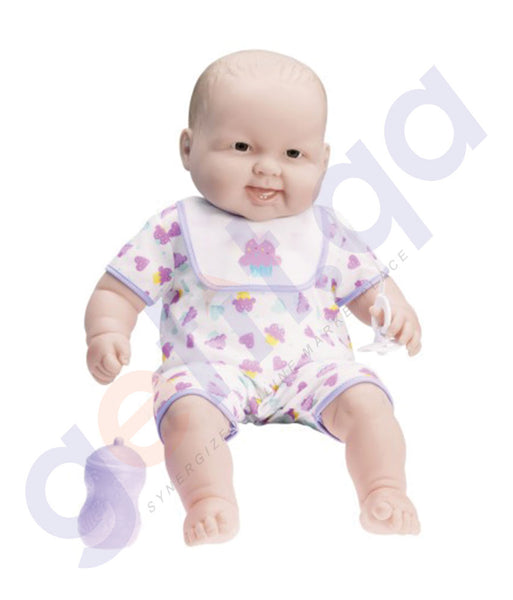 "BUY JC TOYS 20"" LOTS TO CUDDLE BABIES WITH BOLD MOLD MILK BOTTLE - 35009 IN QATAR"