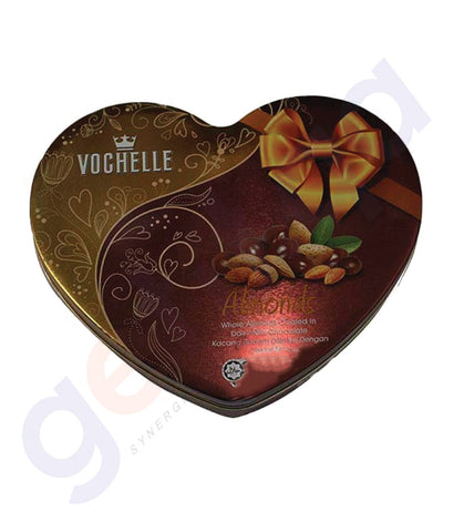 BUY BEST PRICED VOCHELLE GIFT COVERED ALMOND 180GM IN QATAR