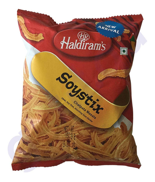 BUY BEST QUALITY HALDIRAMS SOYSTIX 150GM ONLINE IN QATAR