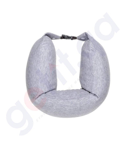 BUY BEST PRICED MI 8H TRAVEL U-SHAPED PILLOW GREY IN DOHA QATAR