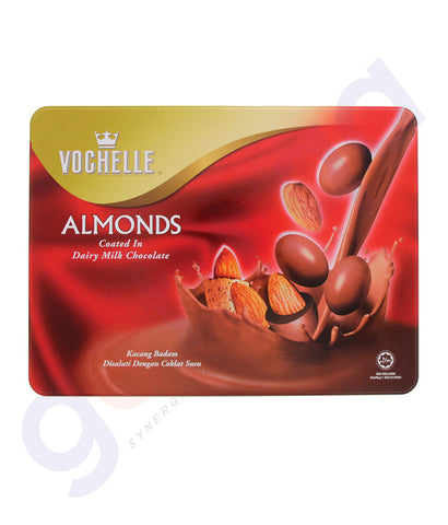 BUY VOCHELLE GIFT COVERED ALMOND 380GM ONLINE IN QATAR