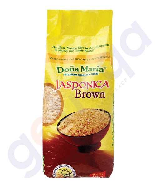 BUY BEST PRICED DONA MARIA JASPONICA BROWN RICE 1KG IN QATAR