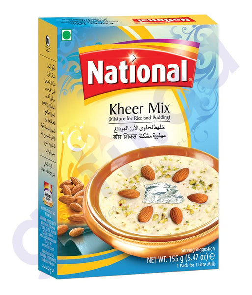 BUY BEST PRICED NATIONAL KHEER MIX 155GM ONLINE IN QATAR