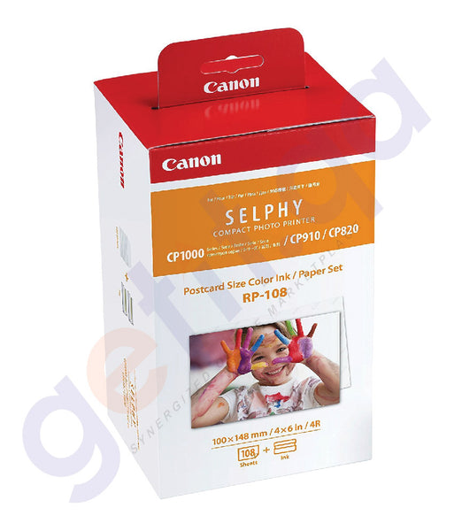 SHOP BEST PRICED CANON DIGITIAL INK/PAPER RP-108IP IN DOHA QATAR