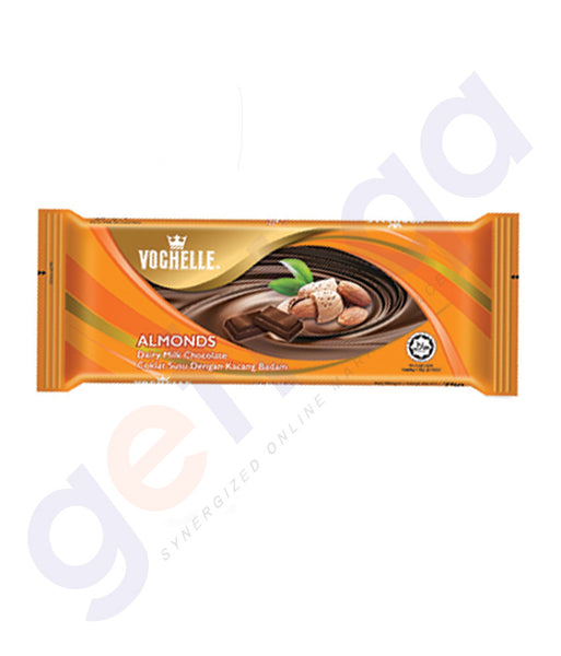 BUY BEST PRICED VOCHELLE BLOCK ALMOND 75GM ONLINE IN QATAR