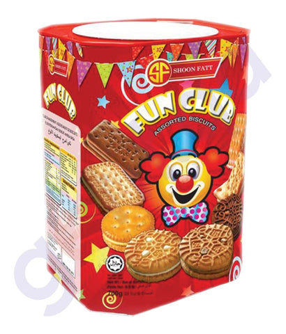 BUY BEST PRICED SHOON FATT VIDORY BISCUIT FUN CLB 700GM IN QATAR
