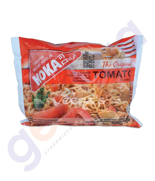 BUY BEST PRICED KOKA M/PACK NOODLES TOMATO 85GM IN QATAR