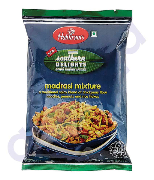 BUY HALDIRAMS MADRASI MIXTURE 200GM ONLINE IN QATAR