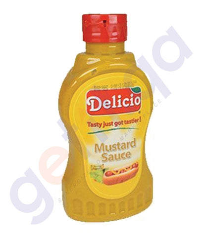 BUY BEST PRICED DELICIO MUSTARD SAUCE 325 ML IN QATAR