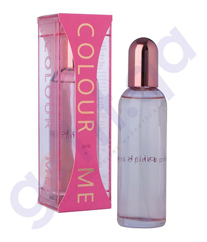 BUY MILTON LLYOD COLOUR ME PINK EDT 100ML FOR WOMEN IN QATAR