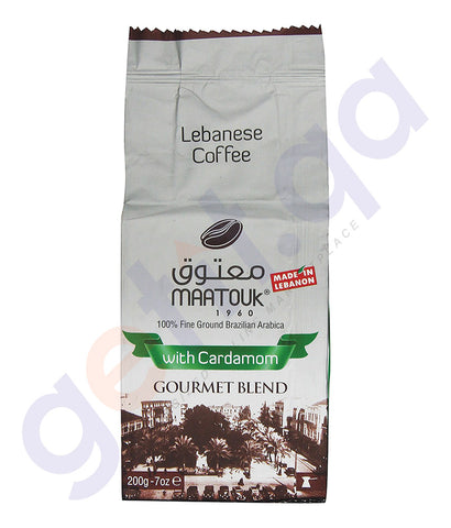 BUY MAATOUK - GOURMET BLEND WITH CARDAMON 200GM IN DOHA QATAR