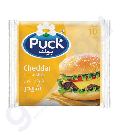 BUY BEST PRICED PUCK SLICES CHEDDAR 200GM ONLINE IN QATAR