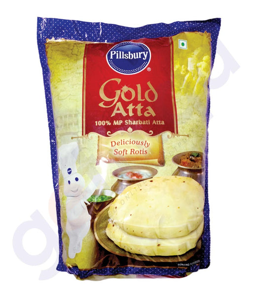 BUY BEST PRICED PILLSBURY GOLD ATTA 2KG ONLINE IN QATAR