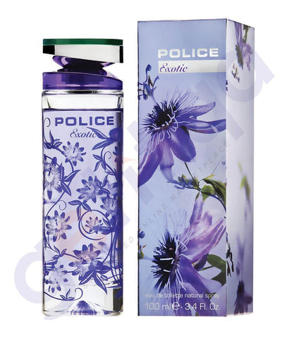 BUY POLICE EXOTIC EDT 100ML FOR WOMEN ONLINE IN QATAR
