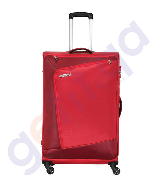 BUY AMERICAN TOURISTER VIENNA SPINNER RED 82CM-29O GAT IN QATAR