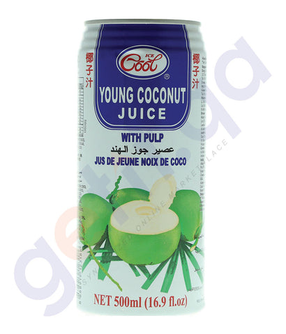BUY ICE COOL YOUNG COCONUT JUICE 500ML IN QATAR