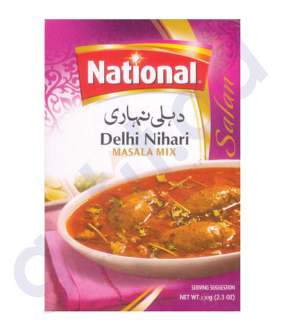BUY BEST PRICED NATIONAL NIHARI MASALA 130GM ONLINE IN QATAR