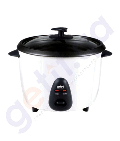 SHOP SANFORD RICE COOKER 1.8LTR - SF2512RC ONLINE IN QATAR