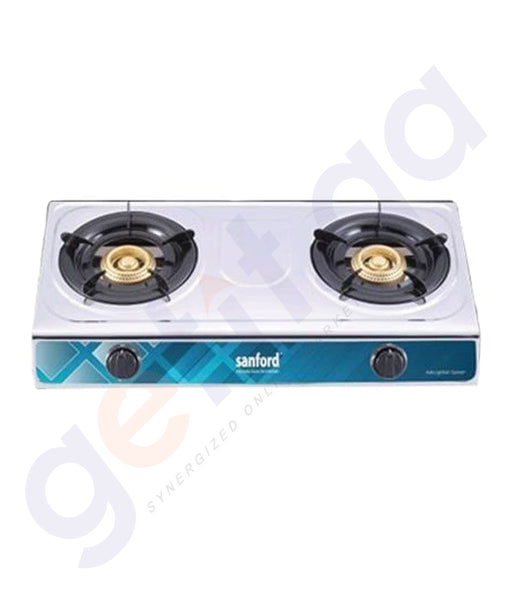 GETIT.QA | BUY SANFORD GAS STOVE 2 BURNER SF5313GC IN DOHA QATAR